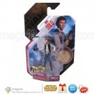 Rare Star Wars Ultimate Galactic Hunt UGH 2007 Han Solo w/Gold Collector Coin MOMC