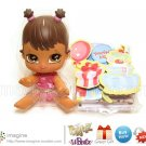 Bratz Lil&#39; Angelz Party Yasmin #639 Doll w/ UN-USED Online Character Code & Cutout NEW! Lot Listed!