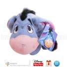 "Disney Pooh and Friends Fisher Price 9"" Eeyore Donkey Winnie the Pooh Plush Stuffed Animal New"