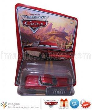 Disney Pixar World of Cars Movie Toy Old School Ramone #18 Mint on Card Mattel Lot Listed