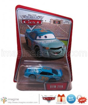 Disney Pixar Cars Toy View Zeen #39 Kmart (K-mart) Days EXCLUSIVE Mint on Card Mattel Lot Listed