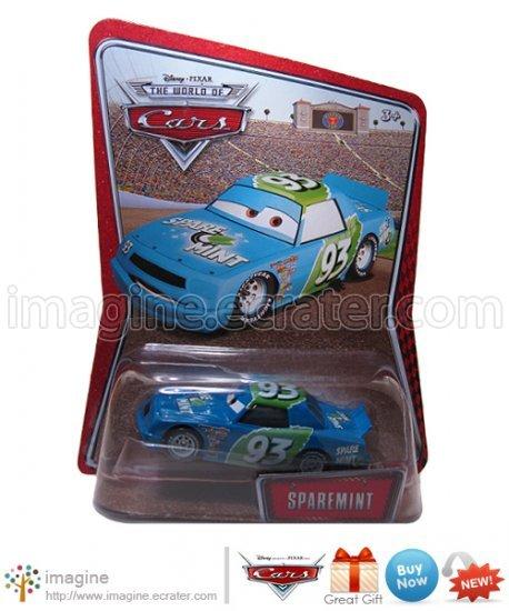 Disney Pixar Cars Toy Sparemint #93 Kmart (K-mart) Days EXCLUSIVE Mint on Card Mattel Lot Listed