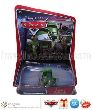 Disney Pixar Cars Toy Bruiser Bukowski Forklift WALMART EXCLUSIVE Mint on Card Mattel Lot Listed