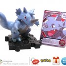 Rhydon #112 Pokemon Diamond and Pearl Series 9 Figure Card Battle Link Nintendo Jakks Pacific ©2008