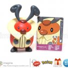 Kricketot #401 Pokemon Diamond and Pearl Series 5 Figure w/Card (Nintendo Jakks Pacific 2007)
