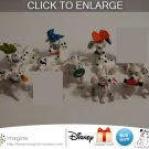 Nice Lot of 7 Disney 101 Dalmatians McDonald Dalmatian Toys Figures Christmas 1996