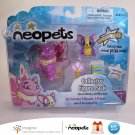 Neopets Series 1 Collector Figure Pack Faerie Wocky & Mazzew Petpet Jakks Pacific 2008 New in Box