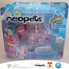 Neopets Series 1 Collector Figure Pack Faerie Wocky Striped Acara & Mazzew Petpet Jakks Pacific New