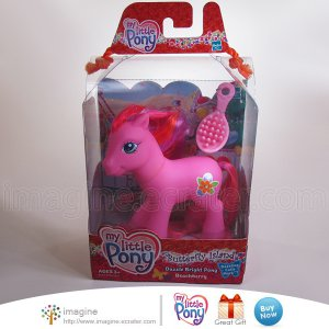 My Little Pony G3 MLP New Butterfly Island Dazzle Bright BEACHBERRY Mint in Box MIB Semi Vintage