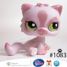 Littlest Pet Shop LPS Collector Journal Exclusive Pink Shimmer Persian Kitty Cat Kitten # 1083