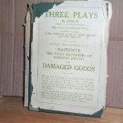 Three Plays by Brieux hcdj 1911