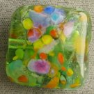 Lampwork Puffy Pillow Focal Bead Koi Pond