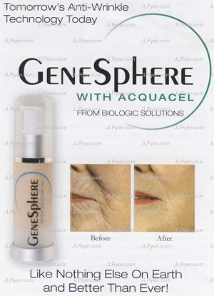 Genisphere with Acquacel