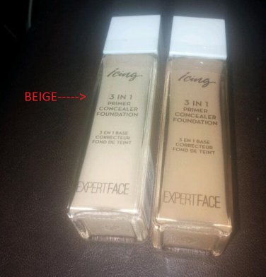 Expert Face 3 in 1 Primer Foundation Beige from Icing