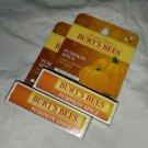 Burts Bees lip balm Pumpkin Spice holiday LE pair