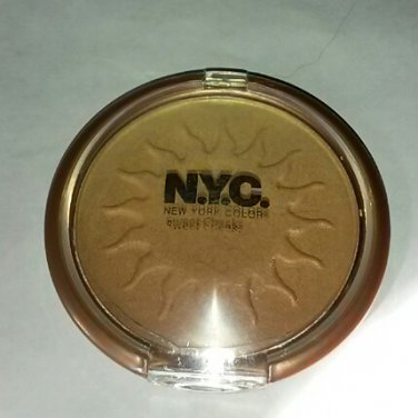 NYC Cosmetics Sweet Cheeks bronzer Bronx Beauty golden highlighter