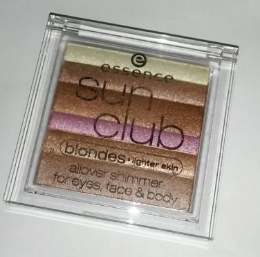 essence Sun Club all over Shimmer powder for face eyes body Ibiza