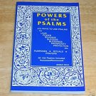 Powers of the Psalms BOOK NEW Pagan Magick Spells