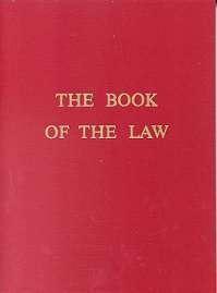 Book Of The Law NEW Aleister Crowley Pagan Magick