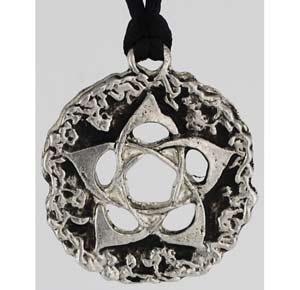 Celtic Pentagram Pendant NEW Pagan Wicca