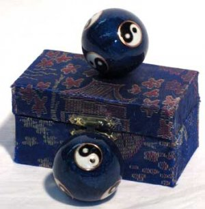 Yin Yang Therapy Balls NEW Health Iron Balls