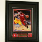 Lebron James Collage Auto Framed