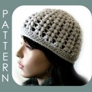 The Vivian Hat - Beanie/Visor Cap 2 styles in 1 - crochet ePattern