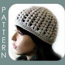 The Vivian Hat - Beanie/Visor Cap 2 styles in 1 - crochet ePattern