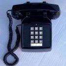 Vintage ITT 2500 Black Push Button Desk Phone Reconditioned