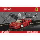 50415 NINCO GT FERRARI F-50 RED (KIT) SLOT CAR 1/32