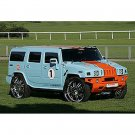 "50489 NINCO HUMMER H2 ""GULF"" SLOT CAR 1/32"
