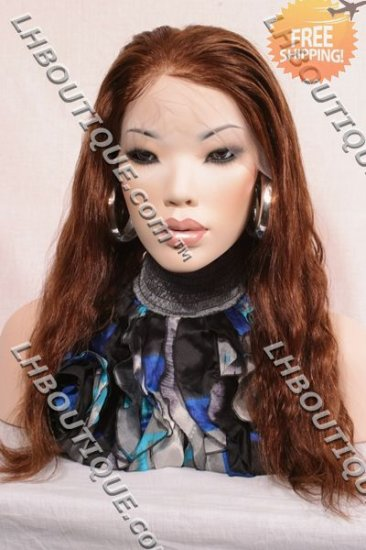 Full Lace Wig Indian Remy Body Wavy 20""