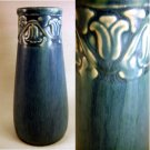 1924 Rookwood Pottery Vase Arts Crafts Floral Border