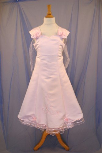 Handmade Satin Bodice With Roses