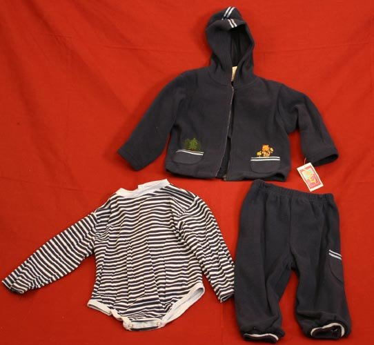 3 Pc Fleece Set