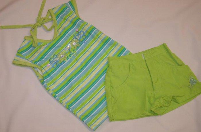 2 Pc Toddler Girl Short Set