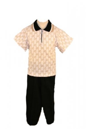 2 Pc Polo Outfit