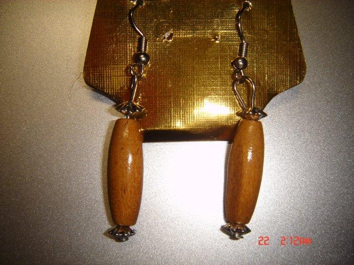 Fashion Handmade Wood Dangle Earrings ON SALE 2009**FREE SHIP