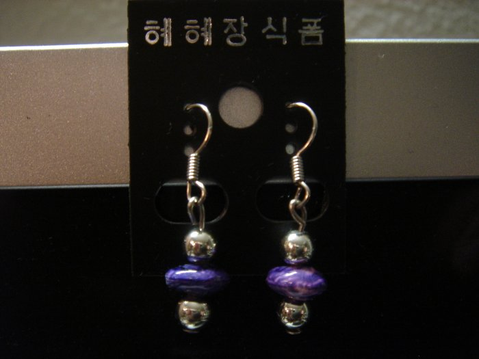 Handmade Pearl Dangle 925 hook Earrings**FREE Silver Cotton-Filled GIFT BOX and Packaging