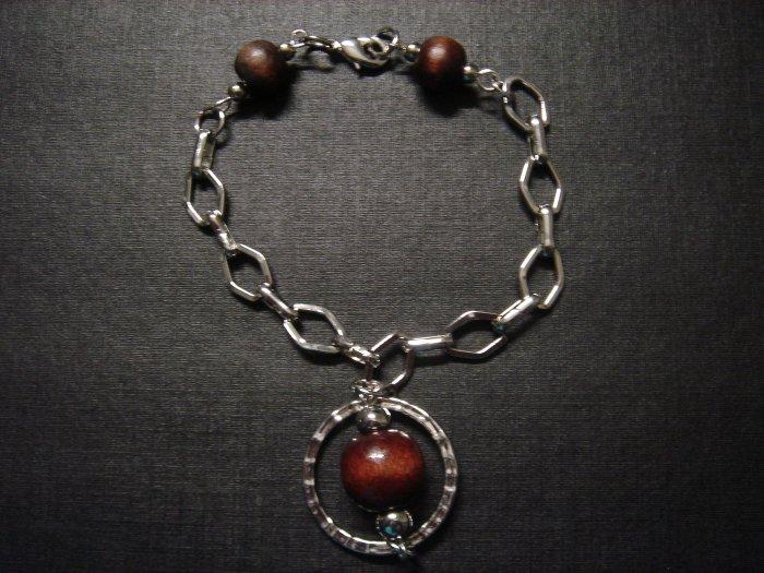 Handmade Round Disk Bead Bracelet ~ON SALE