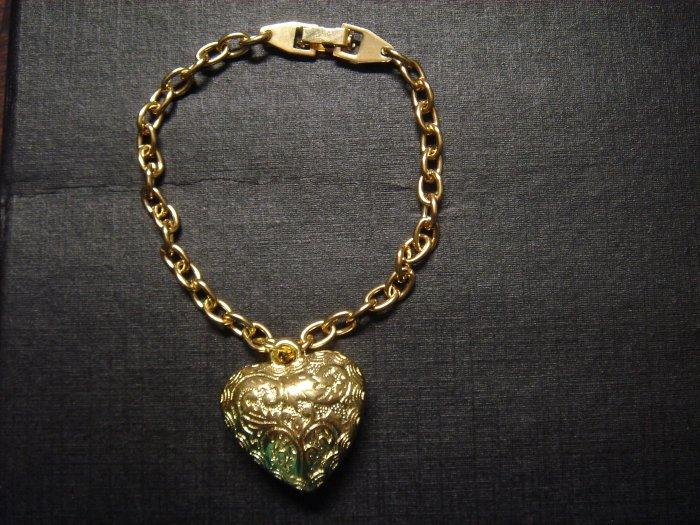 Handmade GoldCut-Carved Bracelet ~ON SALE**FREE Silver Gift Box