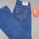 True Religion Jeans 'Bobby'  Low Rise Stretch Size 25 NWT