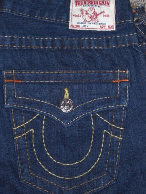 True Religion Jeans 'Joey'  Low Rise Stretch Size 30 NWT