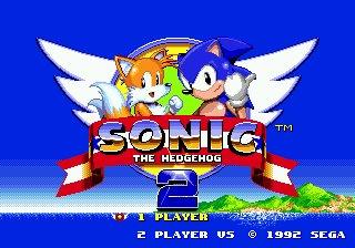 Sonic the Hedgehog 2 Sega Genesis Video Game + Manual