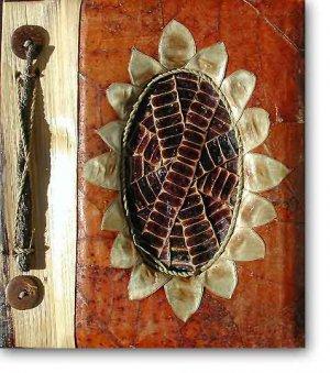 Leaf Photo Album from Bali-Sunflower #32-Large Size