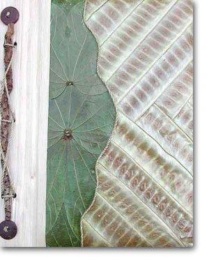 Leaf Photo Album from Bali-Mix #51-Large Size