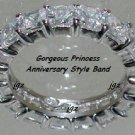 1.25ct Anniversary-Eternity Band* Sz 5/6/7/8/9* Absolutely Gorgeous & Elegant *