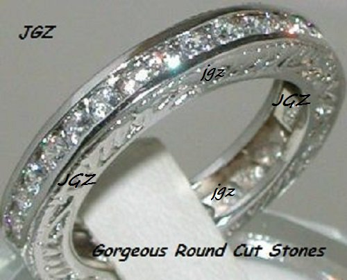 1.50CT Round Brilliant cut Anniversary/Eternity Ring Band*Available Sz 7,8,9 *