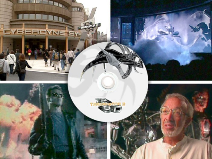 Terminator 2: 3D Electronic PRESS KIT DVD Universal Studios Hollywood Florida Japan Schwarzenegger