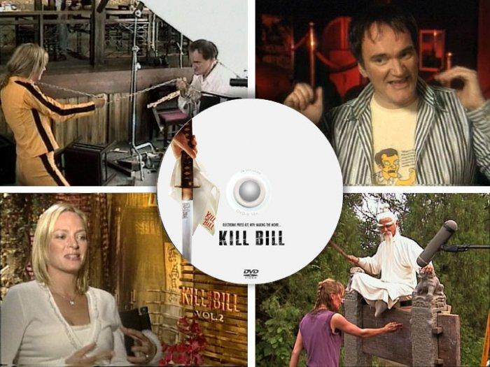 Kill Bill - PRESS KIT & TV PROMOS Thurman Tarantino DVD
